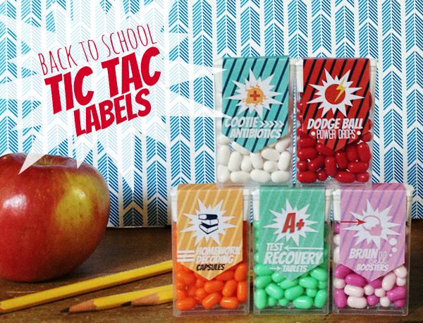 Tic Tacs. Here's a fun printable to add to some Tic Tac's. Your ...