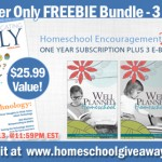 FREE: 1 Year Subscription- Home Educating Family Magazine