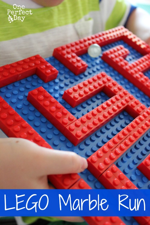 How To Make Your Own Lego Marble Maze Build And Play