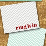 Free Ring It In Printable