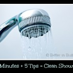MOM Tip: Keep a Shower Clean with 5 Steps in 5 Minutes