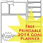 Two Free Goal Planning Printables For Families