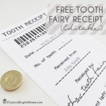 Free Free Tooth Fairy Receipt Template Printable