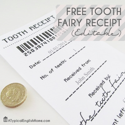 Free Free Tooth Fairy Receipt Template Printable 247 Moms