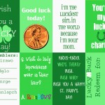 Free St. Patrick's Day Lunch Note Printables