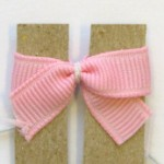 MOM Tip: DIY Mini Bow Hair Bow/Hairbow Clips Instruction