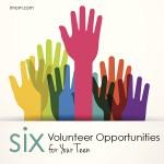 6 Volunteer Opportunities for Your Teen
