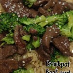Beef Broccoli in the Crock Pot