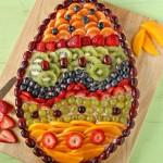 Fruit Pizza For Easter