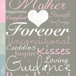 Free Mother's Day Subway Art Printable