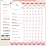 Free Kids Chore Chart Printable