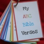 An  Alphabet worth of Bible verses for kids- Free Printables
