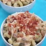 Crock Pot Chicken Bacon Ranch Pasta
