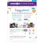 """Babies""""R"""" Us Happy Places design event"""