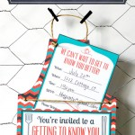 Free Getting to Know You BBQ Printables