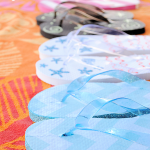 MOM Tip: DIY Fancy Flip Flops