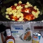 Crock Pot Hawaiian BBQ Chicken – only 3 ingredients