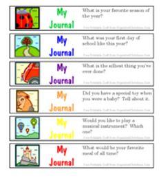 Free Journal Jar Prompt Printables for Kids - 24/7 Moms