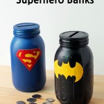 MOM Tip: DIY Superhero Banks