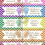 Free Thanksgiving Conversation Starter Printables