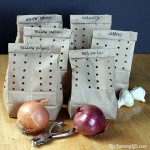 MOM Tip: How to Store Onions, Garlic and Shallots