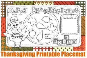 Free Thanksgiving Printables 24 7 Moms
