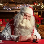 Portable North Pole Santa Writing