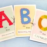 FREE Printable ABC Books