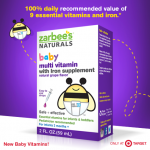 Natural Baby Vitamins from Zarbee's