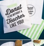 Free Donut I'd Do Without A Teacher Like You Printable