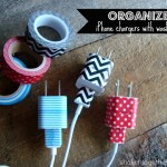 MOM Tip: Organize Phone Chargers