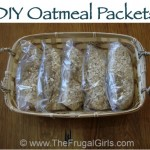 MOM Tip: Homemade Oatmeal Packets