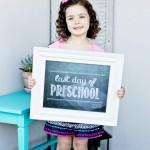 Free Last Day of School Chalkboard Printables