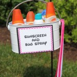 MOM Tip: Sunscreen & Bug Spray Station