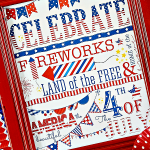 Free 4th of July Subway Art Printable