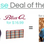 GoCause Weekly Deal Blue Q Wipe Clean Satchel & Zipper Pouch #BuyOneFundOne
