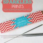 Free 4th of July Sparklers Printables