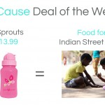 GoCause Weekly Deal: 2 Green Sprouts Straw Bottles