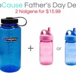 GoCause Weekly Deal Nalgene Daddy & Me Deal #BuyOneFundOne
