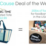 GoCause Weekly Deal: Picnic Time Insulated Tote
