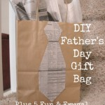 DIY Father's Day Gift Bag