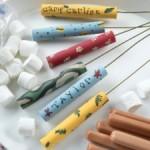 MOM Tip: DIY Camp Roasting Sticks