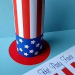 Free Uncle Sam Hat Party Favor Printables