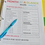 Free Budget Binder Printable
