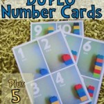 Free Duplo Number Card Printables