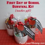 Free First Day of School Survival Kit Printable