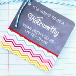 Free Teacher Gift Tag Printables for Back to School