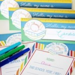Free Goal Setting Celebration for a New School Year Printables