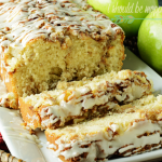 Delicious Glazed Apple and Walnut Bread