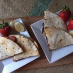 Simple Fruity Breakfast Quesadillas